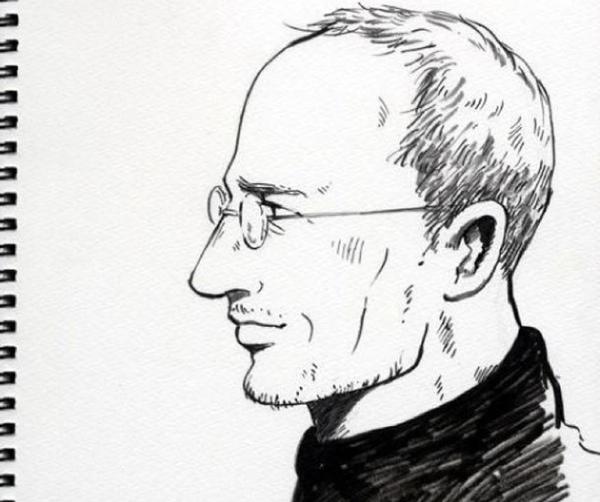 Así es Steve Jobs en el manga