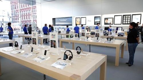 Aspecto habitual de cualquier tienda Apple