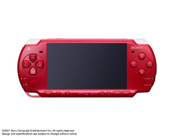 PSP 2000 DR: al rojo vivo