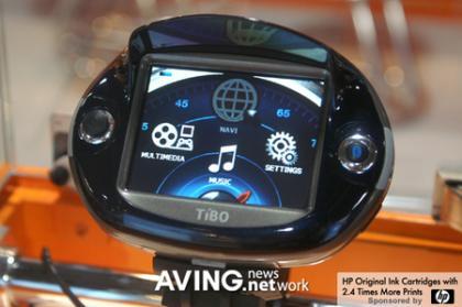 Navegador GPS de moto