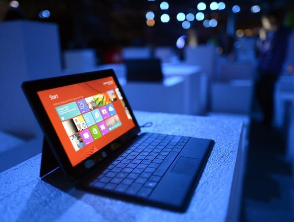 Solo se ha conseguido vender 1,5 millones de Surface en todo el mundo