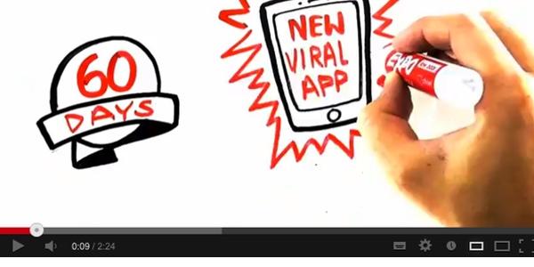 Fragmento del vídeo de la startup RippIn