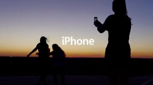 Captura del nuevo anuncio de Apple