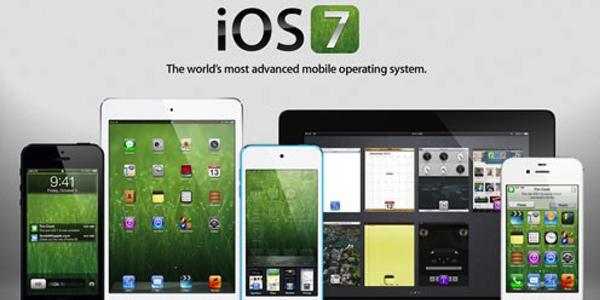 Familia de dispositivos de Apple que incluirán iOS7