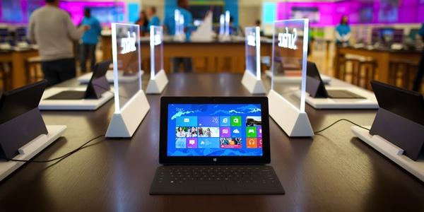 Microsoft vende 900.000 tabletas surface en el primer cuatrimestre del año