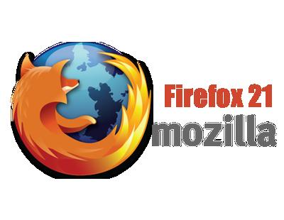 Firefox 21 mejora su servicio de navegación web