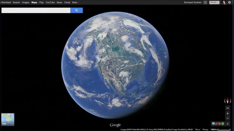 Google Earth no necesitará plugins adicionales para integrarse a Maps