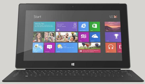 Ninguna de las versiones de Surface incluye el teclado en su precio