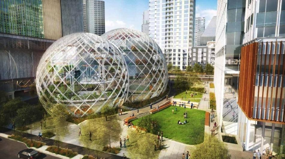 Nuevo proyecto de Amazon en Seattle