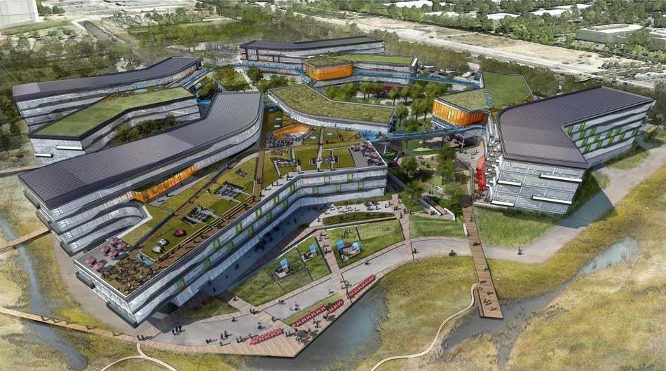 La nueva sede de Google ya está en construcción y estará finalizada en 2015