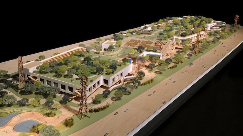 Facebook quiere que las azoteas de su nuevo campus sean un bosque