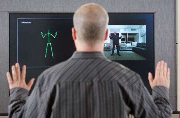 Captura que presenta cómo están experiementa con Kinect para Windows en Redmond