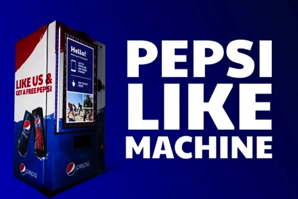 Nueva máquina expendedora gratuita