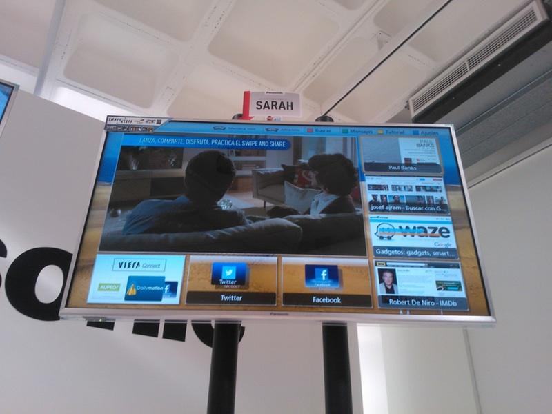 Mi Smart VIERA personalizada durante el evento