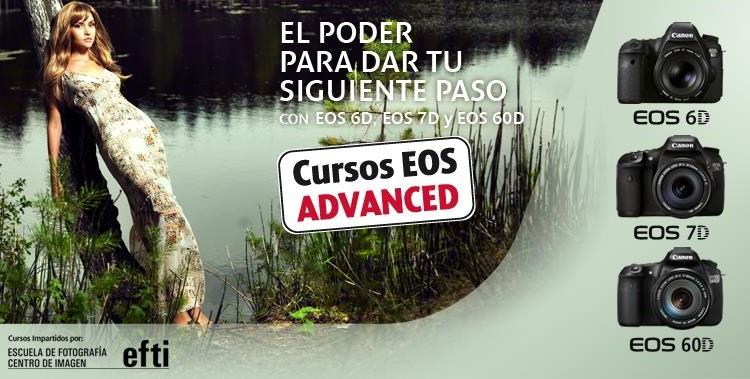 Promoción del Curso Canon EOS Advanced