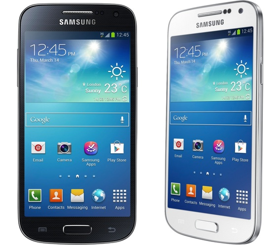 Samsung Galaxy S4 Mini en los dos colores disponibles
