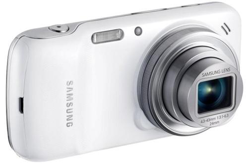 Samsung Galaxy S4 Zoom vista desde la cámara compacta