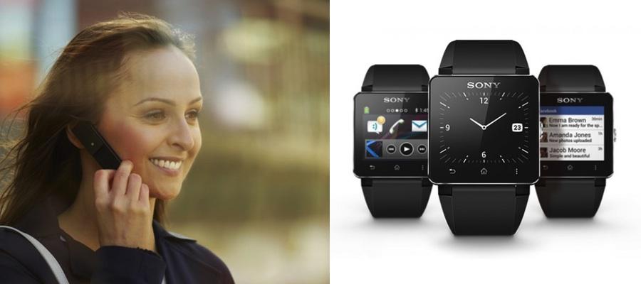 La firma ha presentado su nuevo reloj inteligente y un teléfono mini