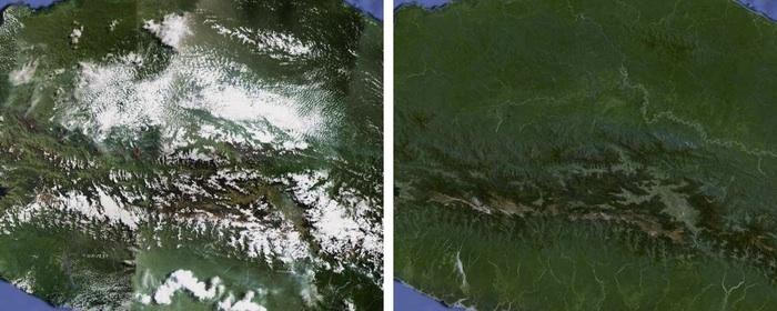 El antes y el después de Papua Central