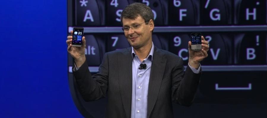 La esperanza de la compañía se encuentra en estos momentos en el éxito de dos dispositivos: el Z10 y el Q10