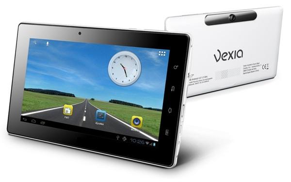 Vexia Navlet 3G con el marco de color negro