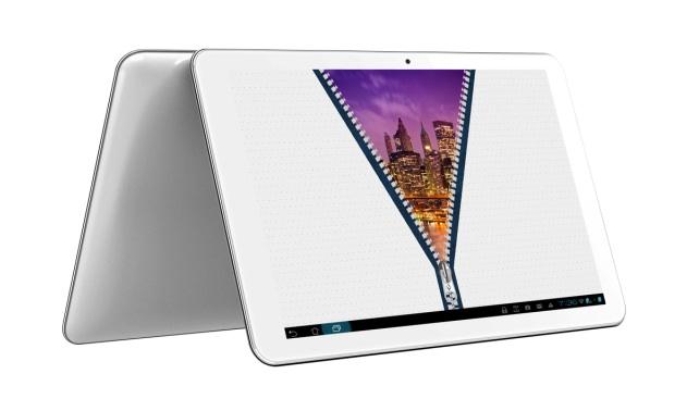 Vexia TabletPlus 10 con marco de calor blanco