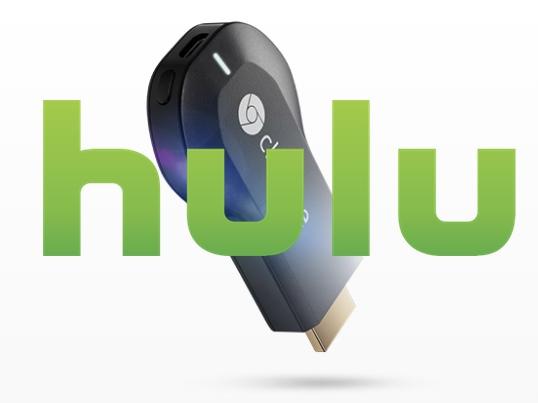 Hulu se une a Google graciasa Chromecast