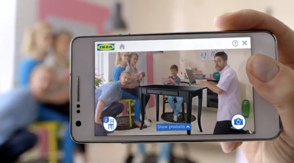 Ikea lanza una aplicaci n de realidad aumentada para for Aplicacion para decorar tu casa