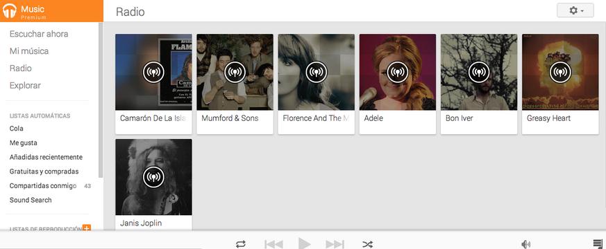 Google Play Music