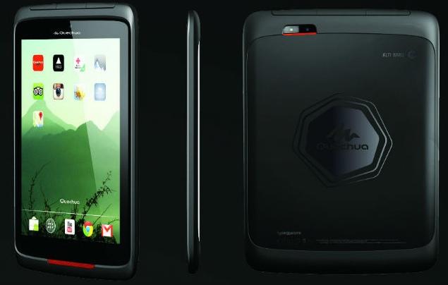 Este es el aspecto que tendría la tableta Quechua