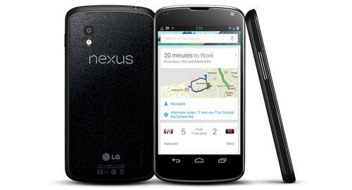 La cámara Photo Sphere es el detalle más atractivo de Nexus 4