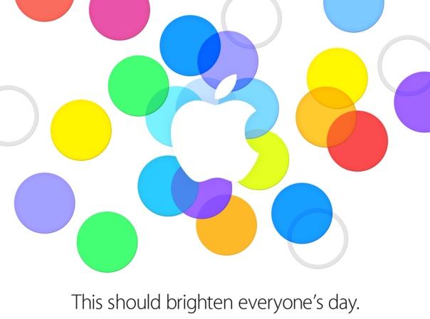 La invitación al evento de Apple