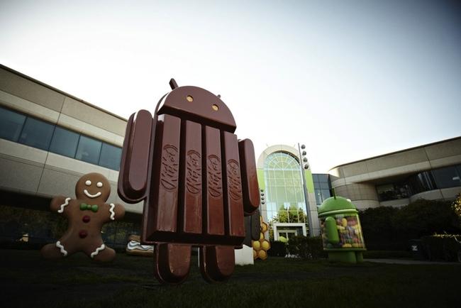 Un nombre muy dulce para la versión 4.4 de Android