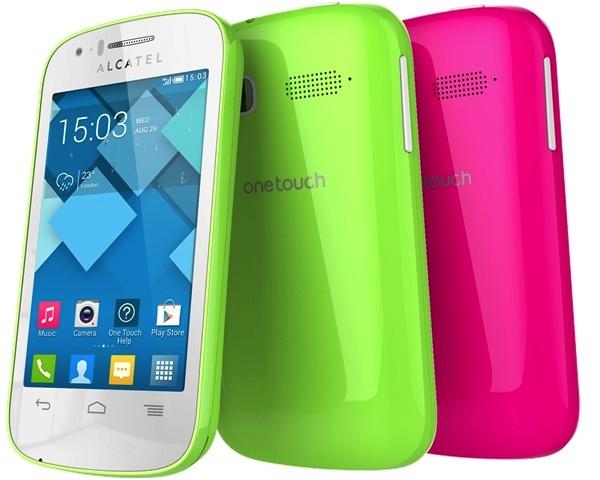 Los coloridos smartphone de One Touch Pop