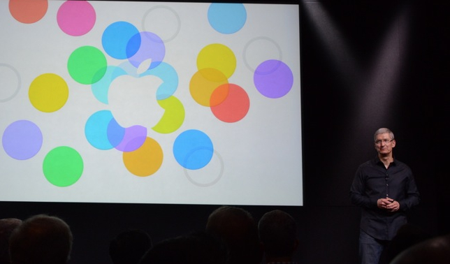 Keynote Apple del iPhone 5S en directo