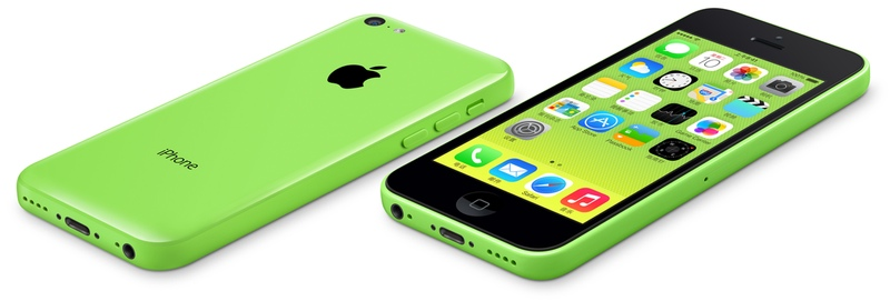 El iPhone 5C, versión China