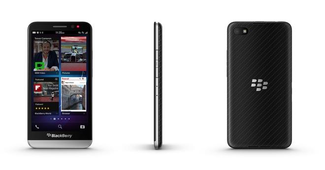 El nuevo smartphone BlackBerry Z30
