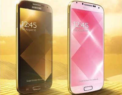 Samsung Galaxy S4 en sus versiones Gold Edition