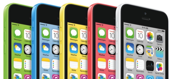 El iPhone 5C es el primer iPhone en estar disponible en multitud de colores