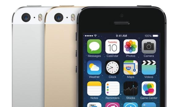 El iPhone 5S incluye el color dorado a su conocida gama blanco-negro
