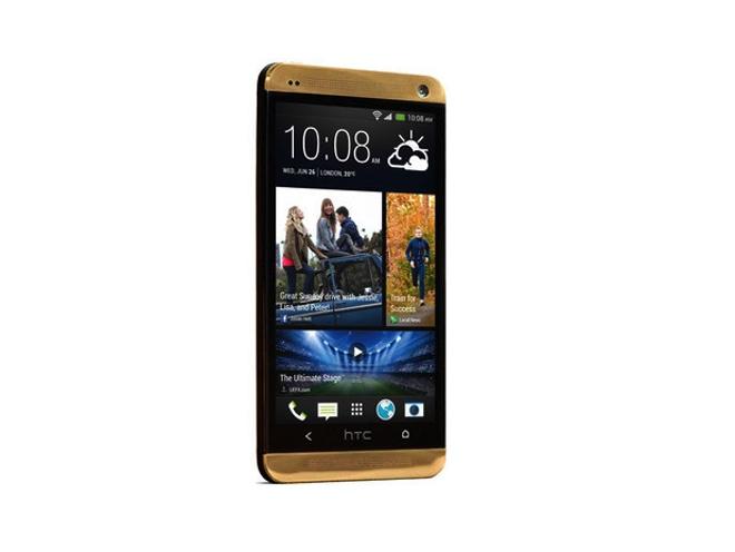 Aparece un nuevo HTC One en color oro