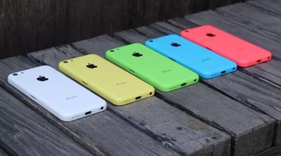 El iPhone 5C es muy colorido, pero no parecerse ser la clave del mercado de Apple