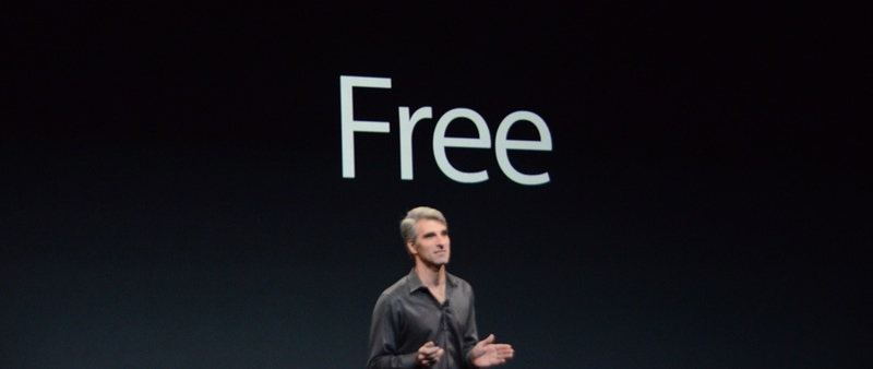 Gratis, la palabra estrella de la keynote de Apple