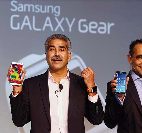 Samsung presentó recientemente nuevos dispositivos