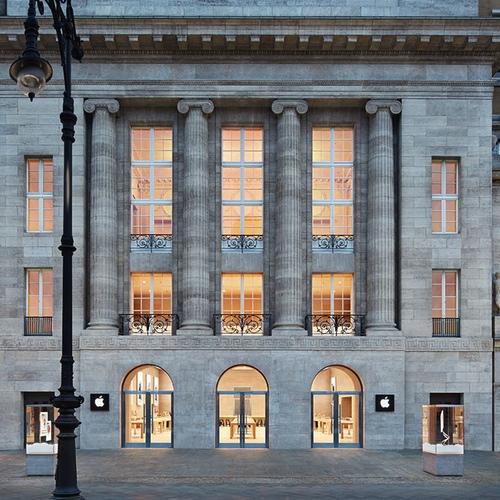 Significant Apple Store abierta recientemene en el centro de Berlín