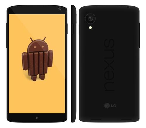 Nexus 5 vendrá acompañado de Android 4.4 KitKat
