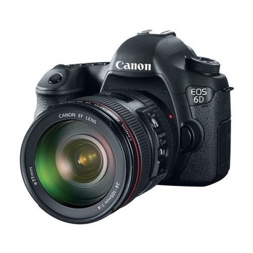 La Canon EOS 6D es una de las cámaras enfocadas al sector profesional