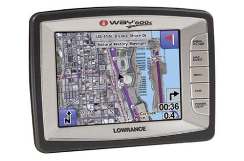 iWay 600C RV: GPS para autocaravanas