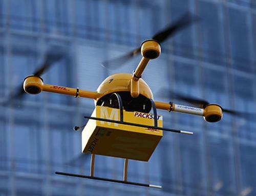 DHL está experimentando su nuevo servicio con el dron Paketkopter