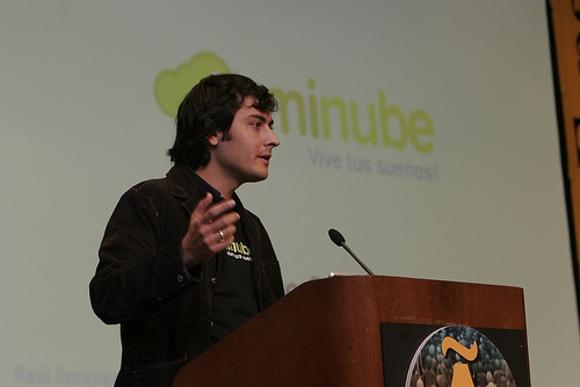 Raúl Jiménez es el CEO y el creador de minube, la empresa con mas financiación de su sector este año
